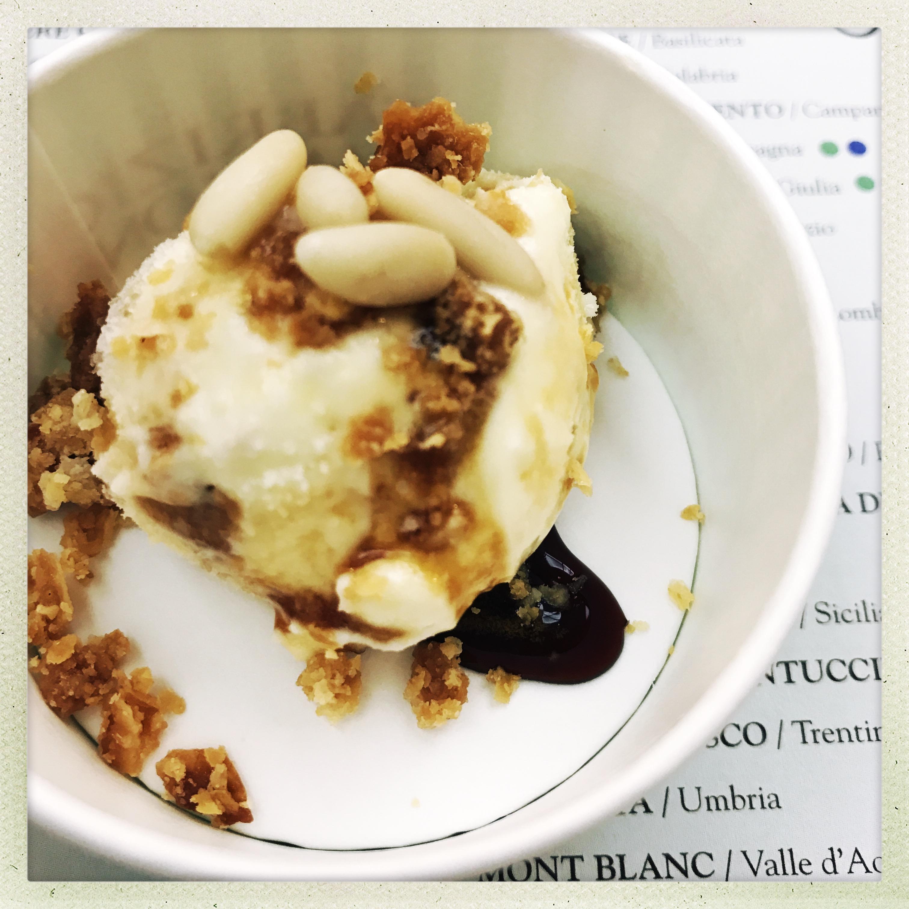Pasticceria Caprice Perscara - gelato rocciata