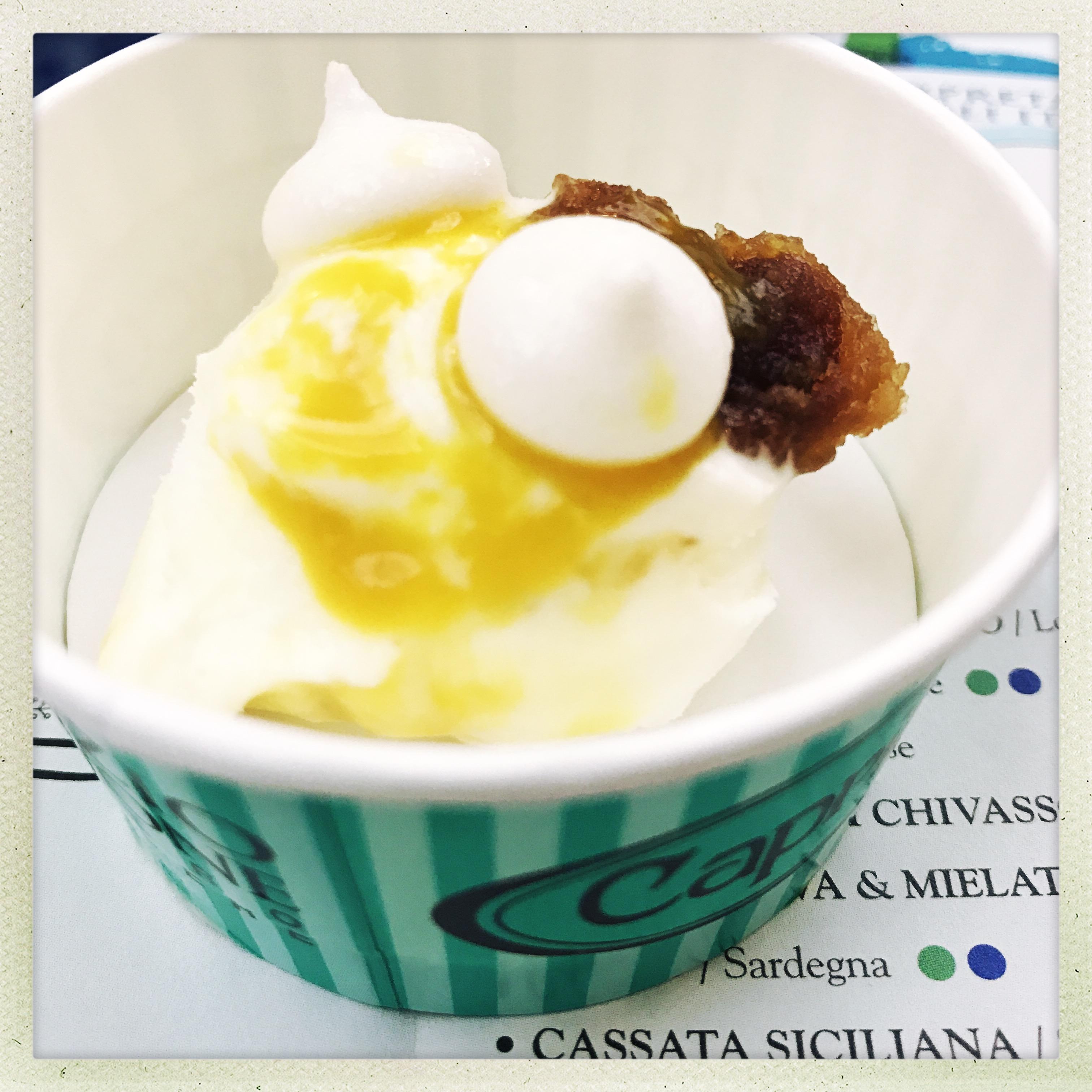Pasticceria Caprice Perscara - gelato Mont Blanc