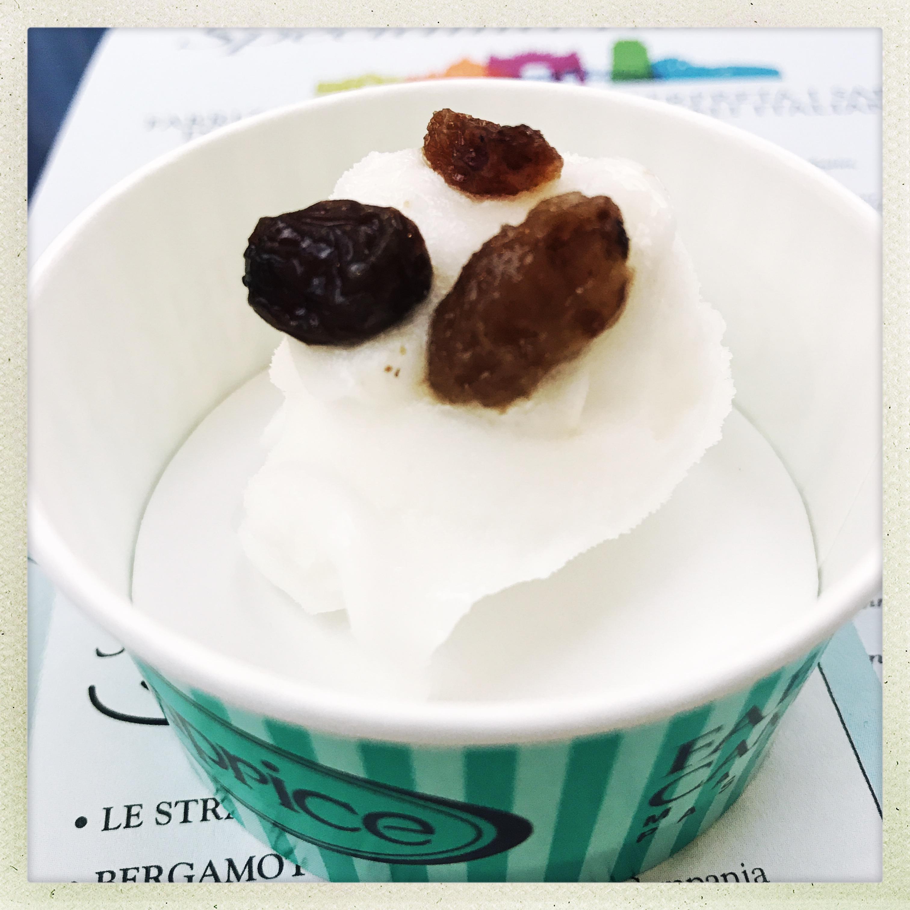 Pasticceria Caprice Perscara - gelato verdicchio